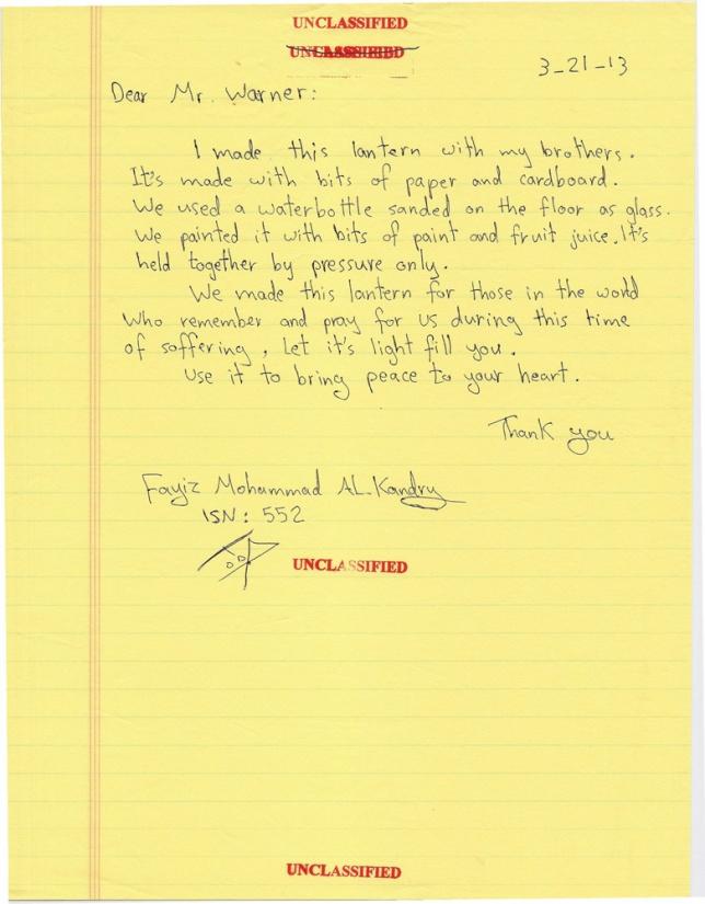 Fayiz Lantern Letter